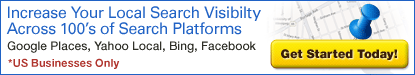 Local Search Visibility across all Major Search Platforms!
