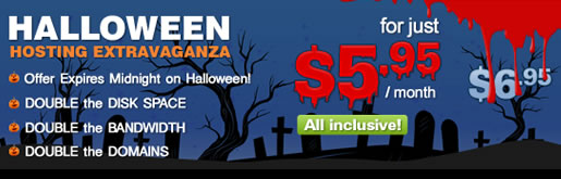 Halloween Hostíng Extravaganza!