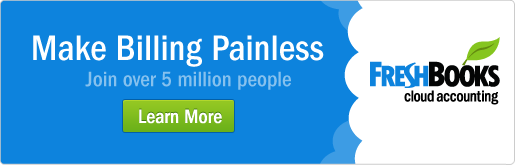 Make Billing Painless in 2013 with FreshBooks