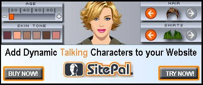 Add Dynamic Talking Characters to Your Website!
