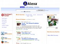 The Free Alexa Toolbar provides useful website traff�c data, stats, and contact details!