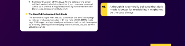 In the Limelight – 'Dark Mode' in Emails