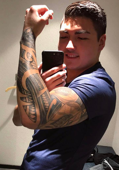 Alleged Yahoo hacker Karim Baratov is seen posing in a photo he posted to Instagram.