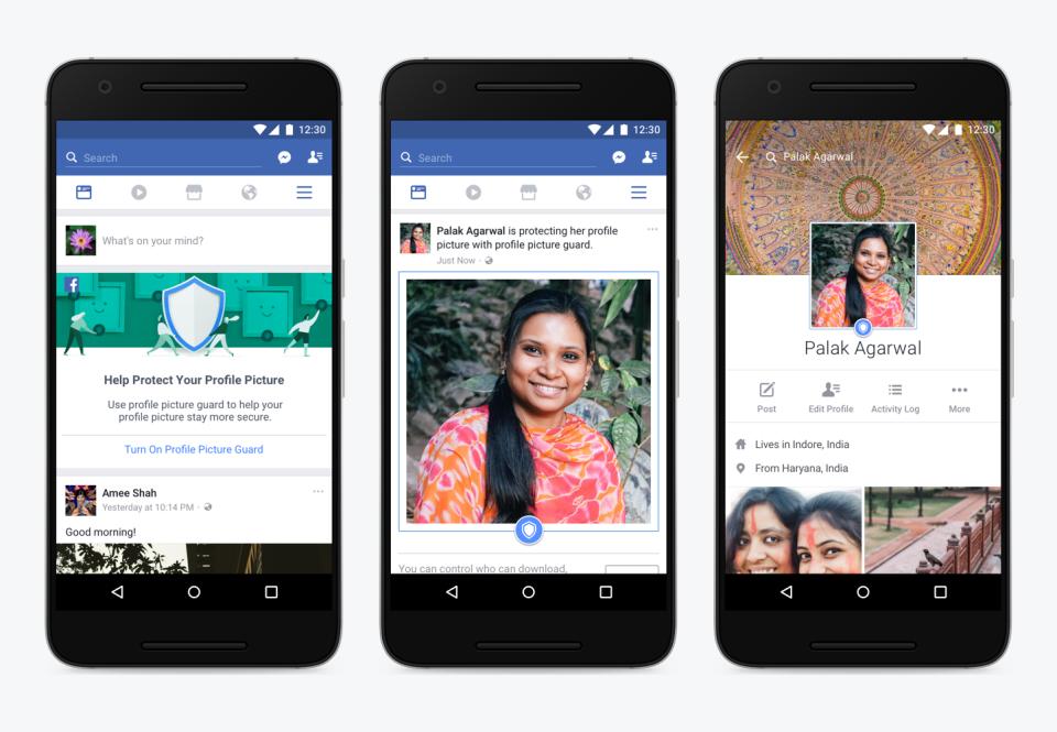 Facebook profile picture tools