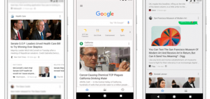 Google app feed update