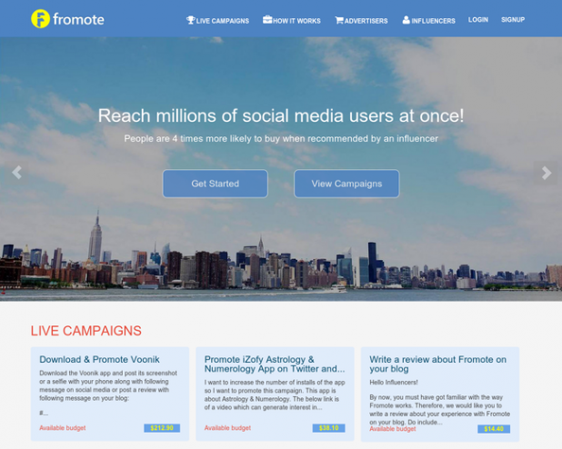Create an effective outreach at once by live campaigns