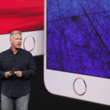 Apple senior vice-president of worldwide marketing Phil Schiller introduces iPhone 8 and iPhone 8 Plus during a special launch event Tuesday.
